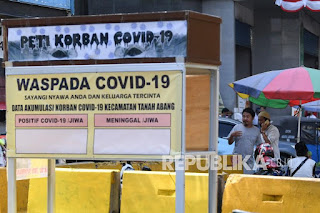 Polisi Gandeng 18 Ormas Tanah Abang Awasi Protokol kesehatan