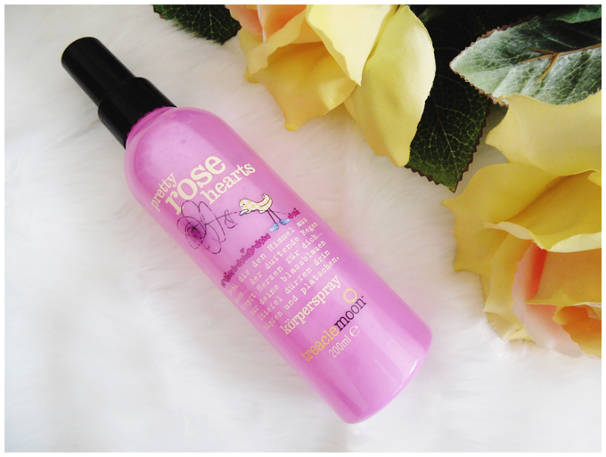 beauty | treaclemoon | pretty rose hearts | body spray | körperspray | more details on my blog http://junegold.blogspot.de | life & style diary from hamburg | #beauty  #treaclemoon #prettyrosehearts #bodyspray #körperspray