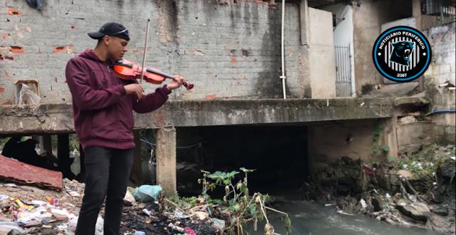 DJ Totu faz cover de sucessos do funk no violino