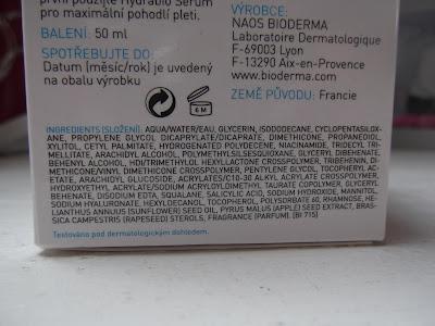 Bioderma Hydrabio Crème zloženie