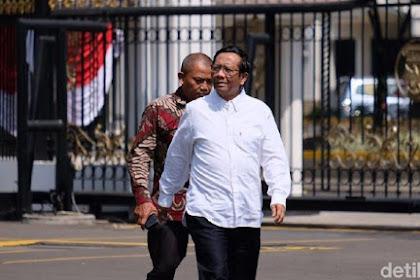Mahfud Md: Saya Tanya ke Menteri, Tak Ada yang Tahu 'Surat Cekal' Habib Rizieq