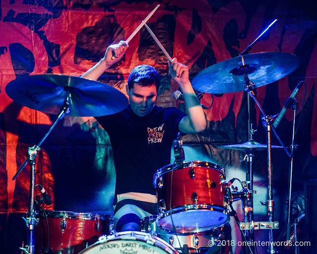 The Penske File at The Horseshoe Tavern on November 3, 2018 Photo by John Ordean at One In Ten Words oneintenwords.com toronto indie alternative live music blog concert photography pictures photos