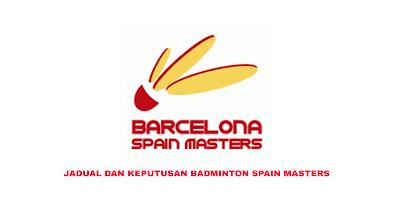 Jadual Badminton Spain Masters 2020 (Keputusan)
