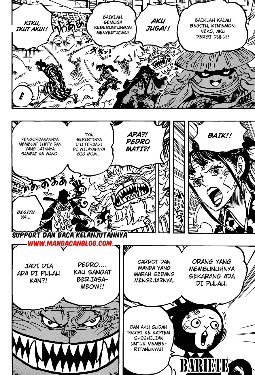 Manga One Piece Chapter 1012 Bahasa Indonesia