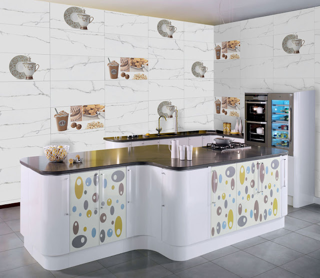 White Tiles For Kitchen