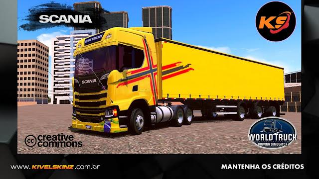SCANIA S730 - PERFORMANCE EDITION AMARELO