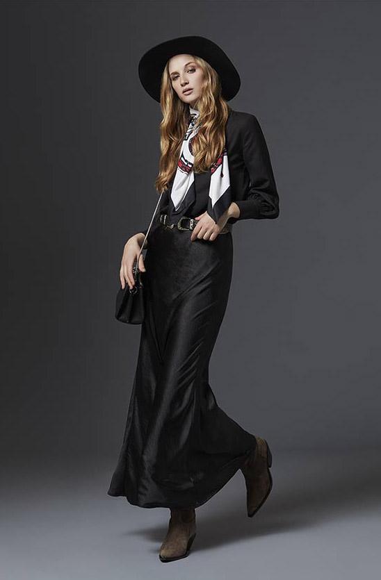 Faldas invierno 2020. Ropa de moda para mujer invierno 2020.