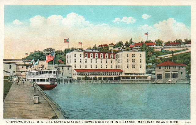 Mackinac Island Lifesaving Station House