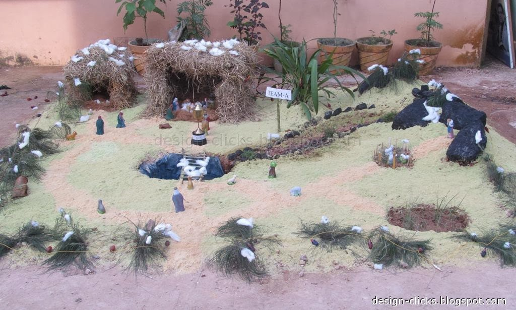 There Was A Crib Making Competition At Our Church And Below Are The Snaps From