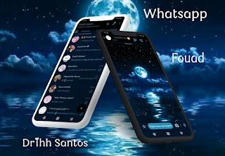 Night Mod Theme For YOWhatsApp & Fouad WhatsApp By Driih Santos