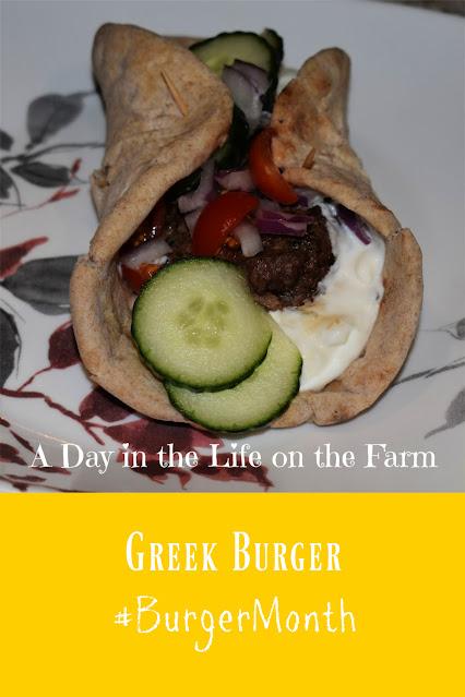 Greek Burgers pin