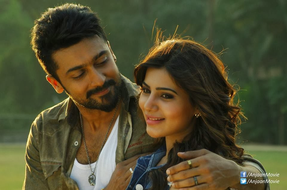 anjaanmoviestills suriyaandsamantha1 anjaan movie latest stills surya