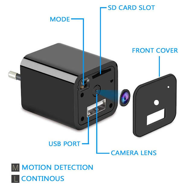 IFITech 1080p HD Hidden Camera, hidden cam,