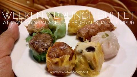 Nikmati Weekend Brunch Buffet di Mandarin Palace, The Federal Kuala Lumpur