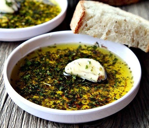Italian Bread Dipping (Oil) Sauce #appetizers #dips
