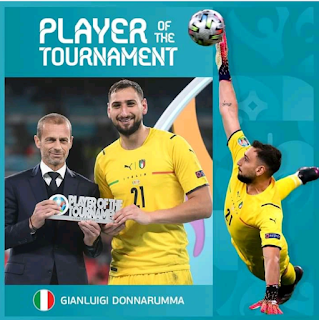 Euro2020 Best player for the tournament