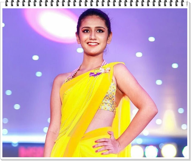 Hot-Pics-Priya-Prakash-Varrier-In-Transparent-Yellow-Saree-Awesome-Photos-1