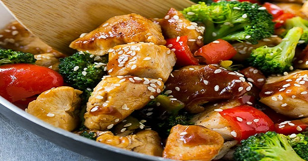 Teriyaki Chicken And Vegetables Recipe