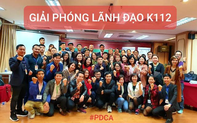 """Khóa đào tạo """"Giải phóng lãnh đạo"""" của PDCA đầu tiên của năm 2020 tại Hội trường Vplace"""