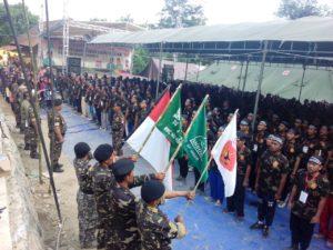 Membludak, 760 Muda Mudi Ikuti Diklatsar Banser Kabupaten Cirebon