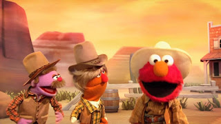 Count By Two Kid, Elmo The Musical Cowboy the Musical, Meow Moo Count by Two March, Giddy Up, Sesame Street Episode 4402 Don't Get Pushy season 44
