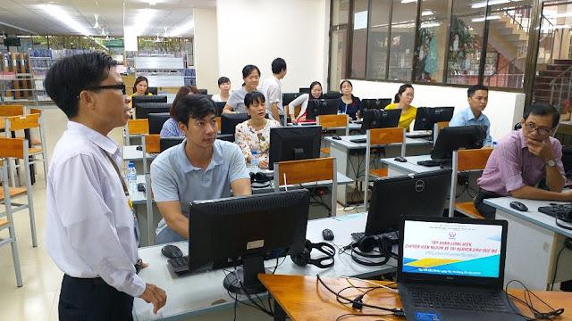 Tập huấn về Tài nguyên Giáo dục Mở tại Trường Đại học Sư phạm Kỹ thuật TP. Hồ Chí Minh - ngày 2