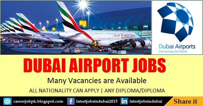 Dubai Airport jobs in Dubai 2017
