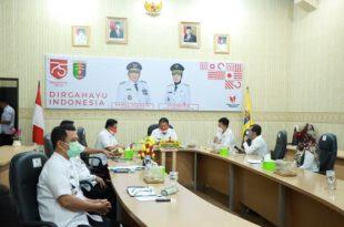 Gubernur Arinal Ikuti VC Pencegahan Korupsi