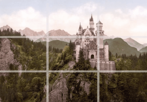 second example about rule of third castle