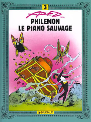 "couverture de ""PHILEMON T3 : LE PIANO SAUVAGE"" de fred chez Dargaud"