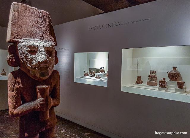 Peças pré-colombianas do Museu Larco, Lima