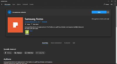 Samsung Notes Windows