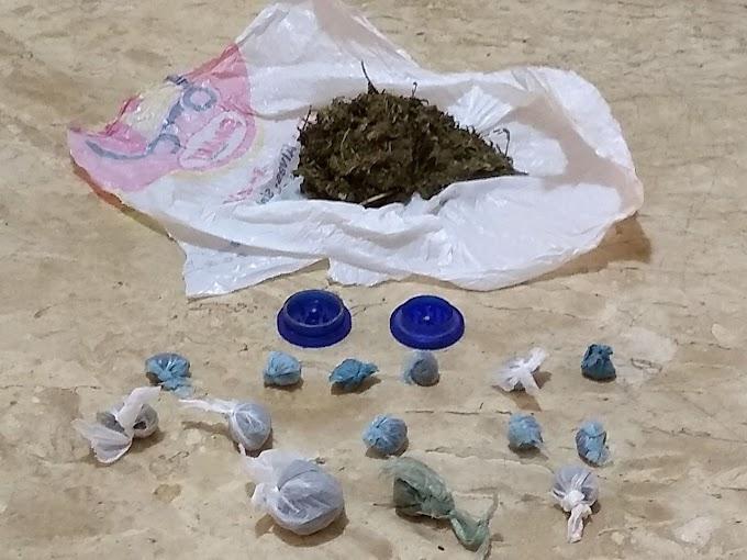 Ourolândia: 24ª CIPM prende indivíduos por tráfico de droga e desacato