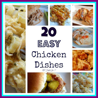 20 Easy Chicken Dishes