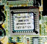 Where ROM Chip is installed in Computer?