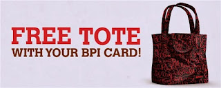 BPI Credit card, BPI Credit card promotion, BPI Credit card promo, Philippine promotion, freebies