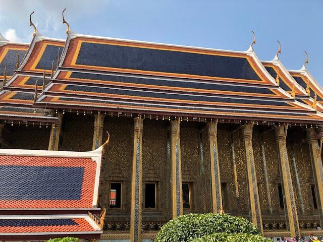 Templo do Buda Esmeralda (Wat Phra Kaew) - Bangkok - Tailândia