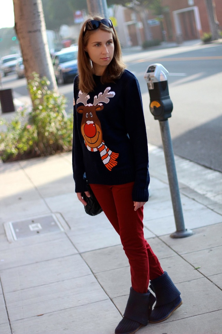 d93022ddee6 LA by Diana - Personal Style blog by Diana Marks  Funky Christmas Jumper