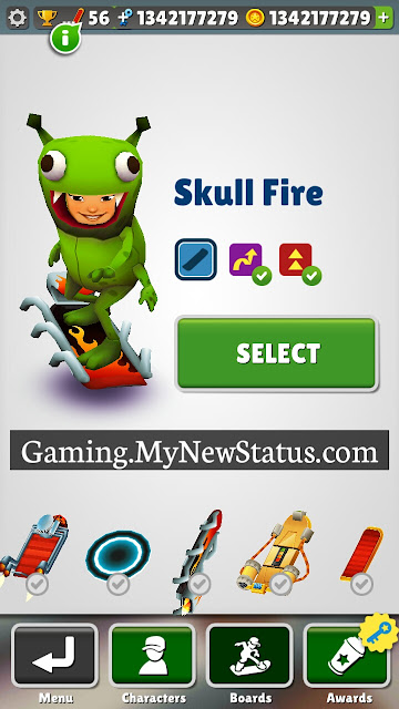Subway Surfers All Boards Free