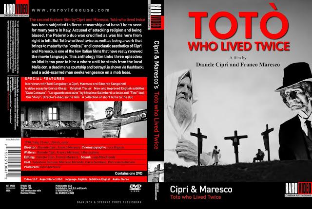 Totò Who Lived Twice DVD Cover