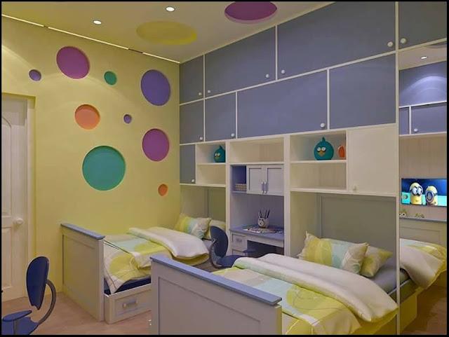 20. colorful bedroom decor