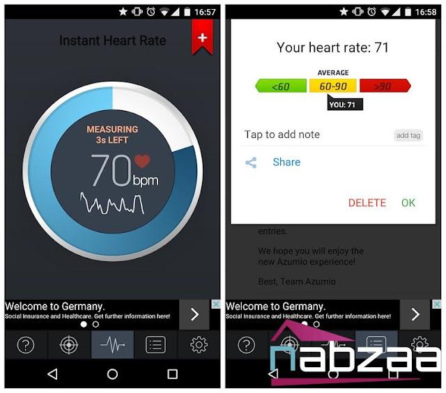 ثلاثة تطبيقات لمعرفة نبضات قلبك