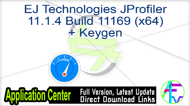 EJ Technologies JProfiler 11.1.4 Build 11169 (x64) + Keygen