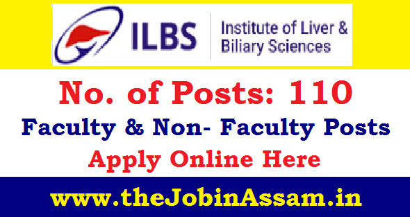 Institute of Liver and Biliary Sciences (ILBS) Recruitment 2020