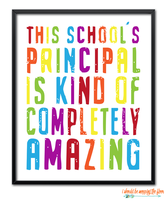 Principal Printable
