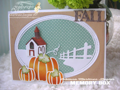 fall country house card front