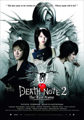 Death Note, 2006, Death Note 2 : Last Name, Death Note 2, Japanese Movie, Filem Jepun, Misteri, Seram, L, Ryuzaki, Lawliet, Light Yagami, Kira, Ryuk, Remo, Watari, Misa Amane, Senarai Pelakon Filem Death Note 2, Pelakon,  Tatsuya Fujiwara, Kenichi Matsuyama, Erika Toda, Ending, Sinopsis, Review By Miss Banu, Blog Miss Banu Story,