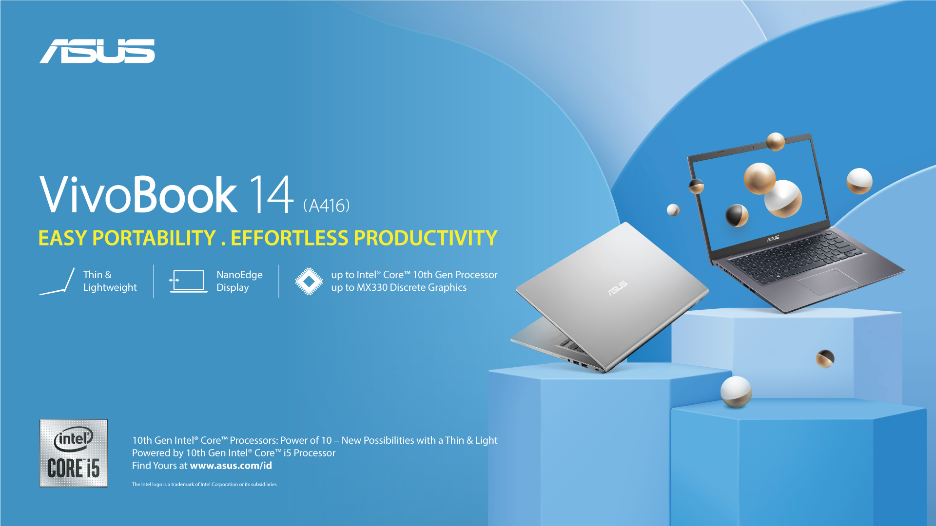 ASUS VivoBook 14 A416,