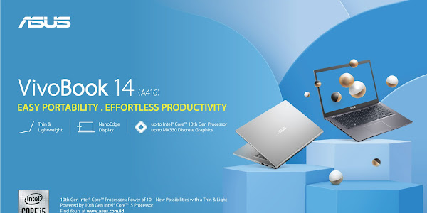 Spesifikasi ASUS VivoBook 14 A416, Laptop Mainstream Harga Cuma 4 Jutaan