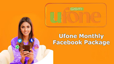 ufone facebook package monthly